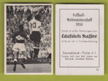 West Germany v Turkey Morlock Turgay 23